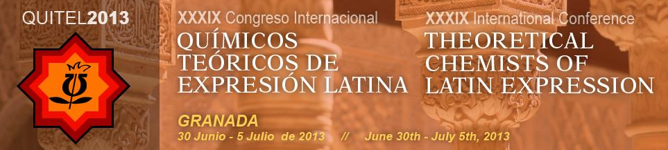 XXXIX congreso internacional quimicos teoricos