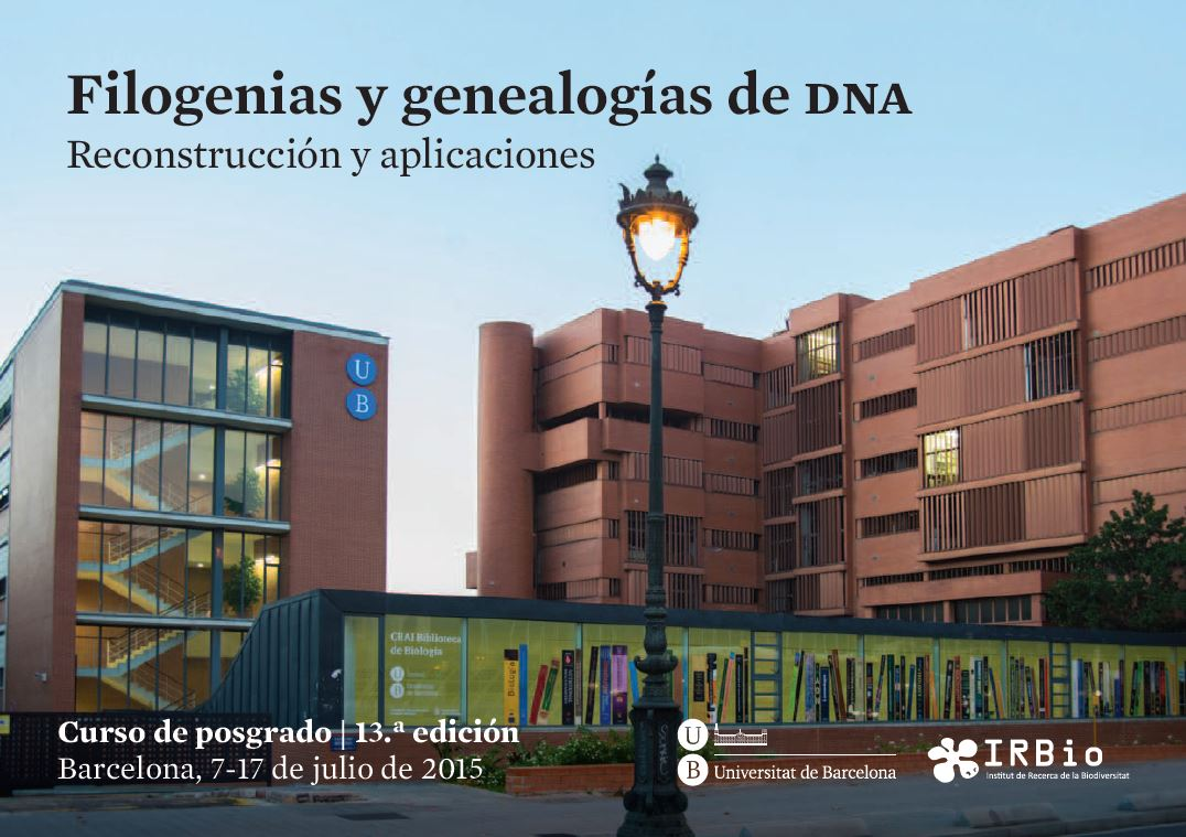 filogenias y genealogias dna en la UAB
