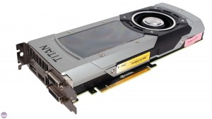 GPU Nvidia modelo GTX Titan Black