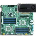 Platform with GPU 12 cores and GPU 256 cores for silent environment