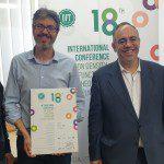 SIE apoyando a la ciencia, en este caso, con el Patrocinio del 18º Conferencia Internacional sobre Teoría de Densidad Funcional y sus aplicaciones